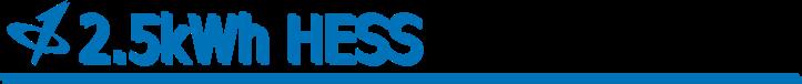 CALB USA Inc. 2.5 HESS Banner