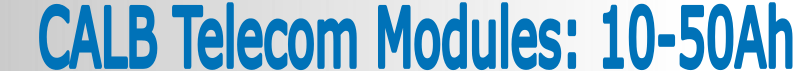CALB USA Inc. Telecom Banner 1