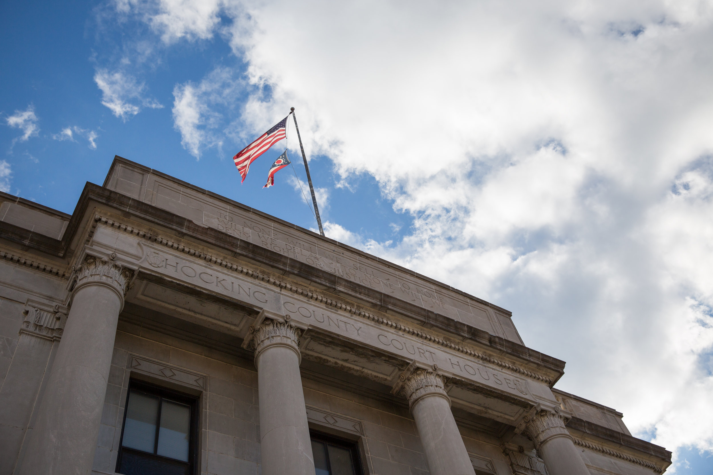 The Hocking County Municipal Courthouse is home to one of the first Vivitrol courts in the state. Many other counties have used it as a model because of the positive results that have come out of the program.