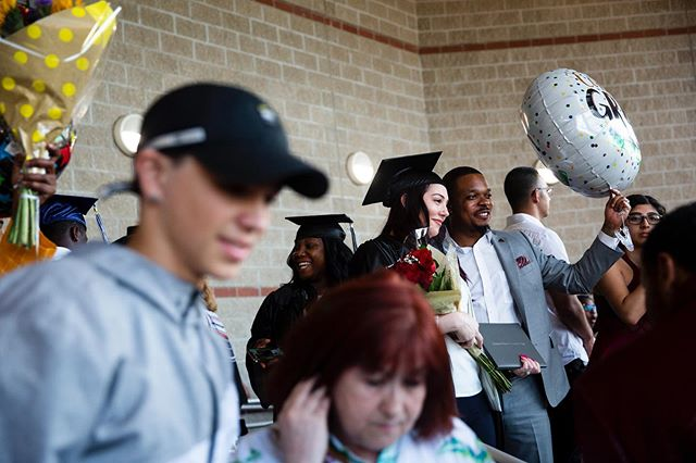 It's graduation season y'all // Scenes from Lorenzo Walker Technical College graduation