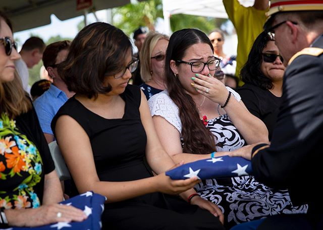 Scenes from a Memorial Day ceremony organized by the Collier County Veterans Council