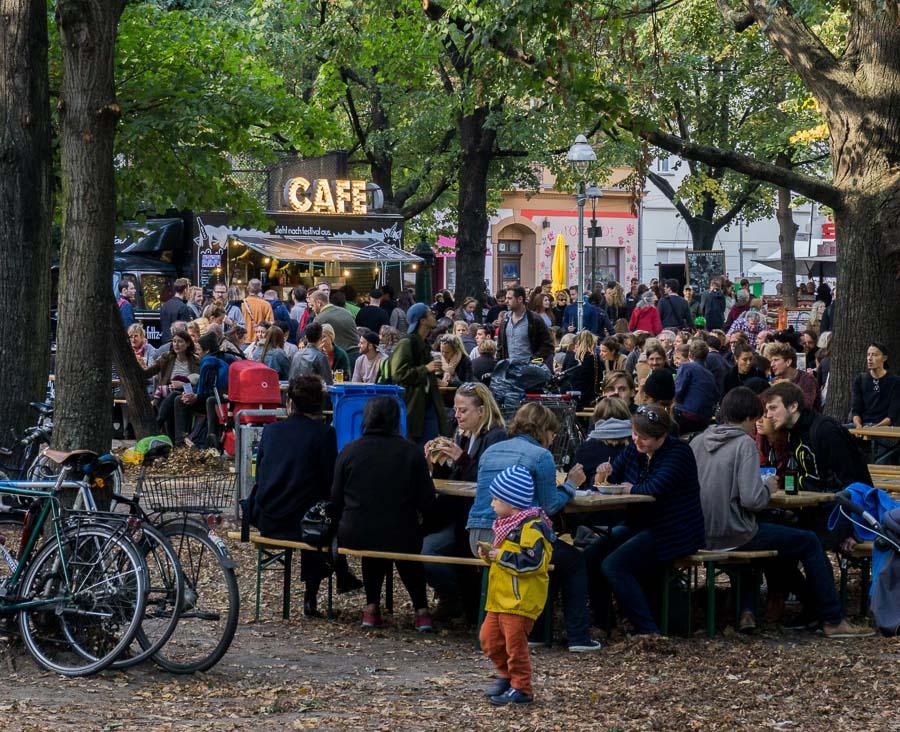 Lausitzer Platz during Stadt Land Food