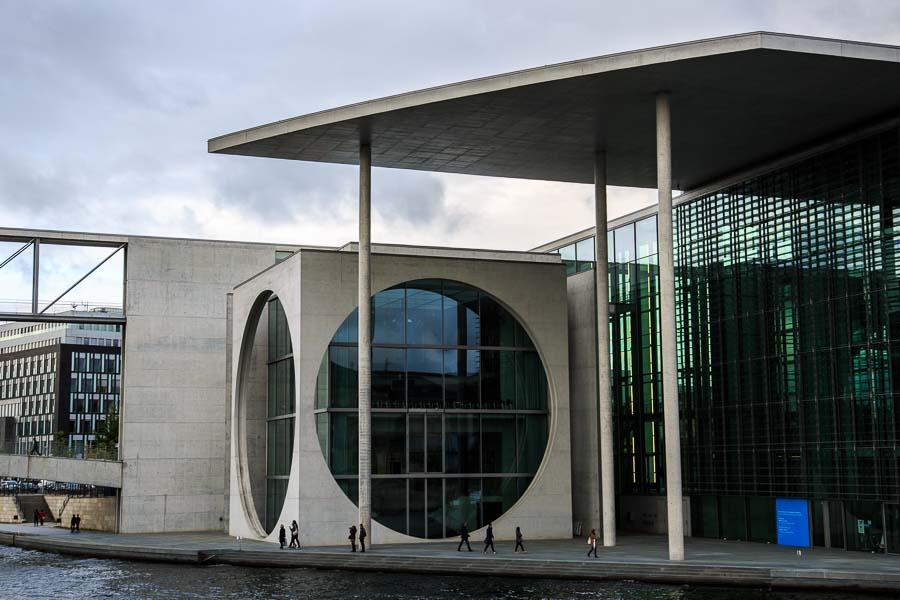 Deutscher Bundestag: Marie-Elisabeth-Lüders-Haus - Government Buildings