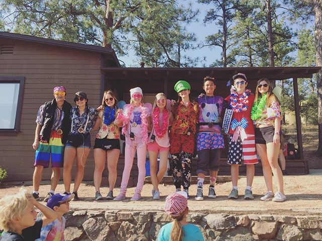 Thanks to all the campers and staff who made our camp great this year! It was a blast #ucccamp2017 #findyourtruecolors🌈