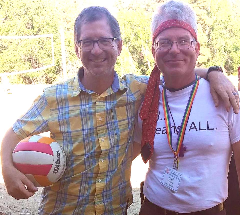 2015 camp - Rev. Dr. John C. Dorhauer and Rev. Paul Whitlock