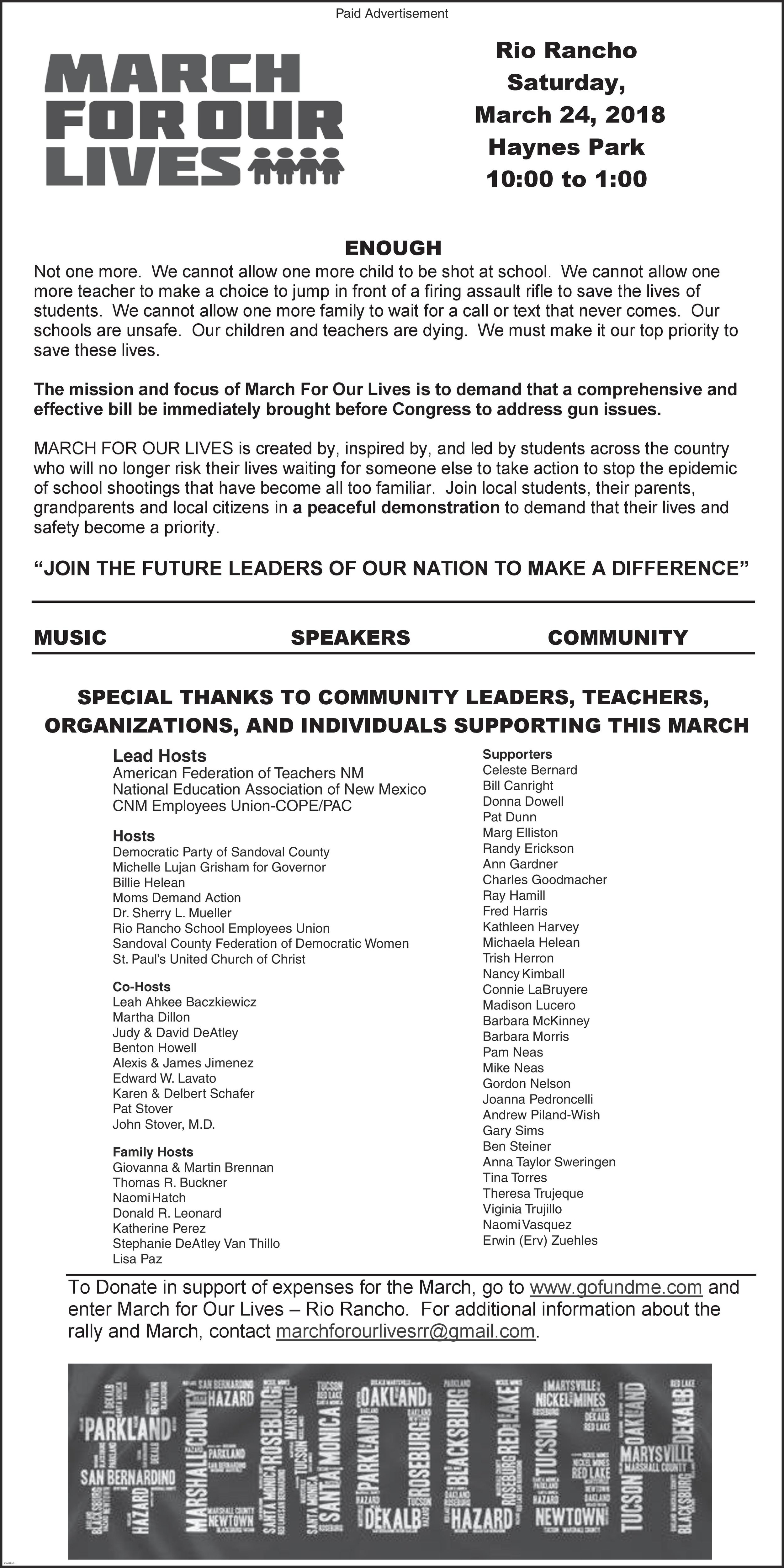 rio ranch march for our lives newspaper ad.jpg