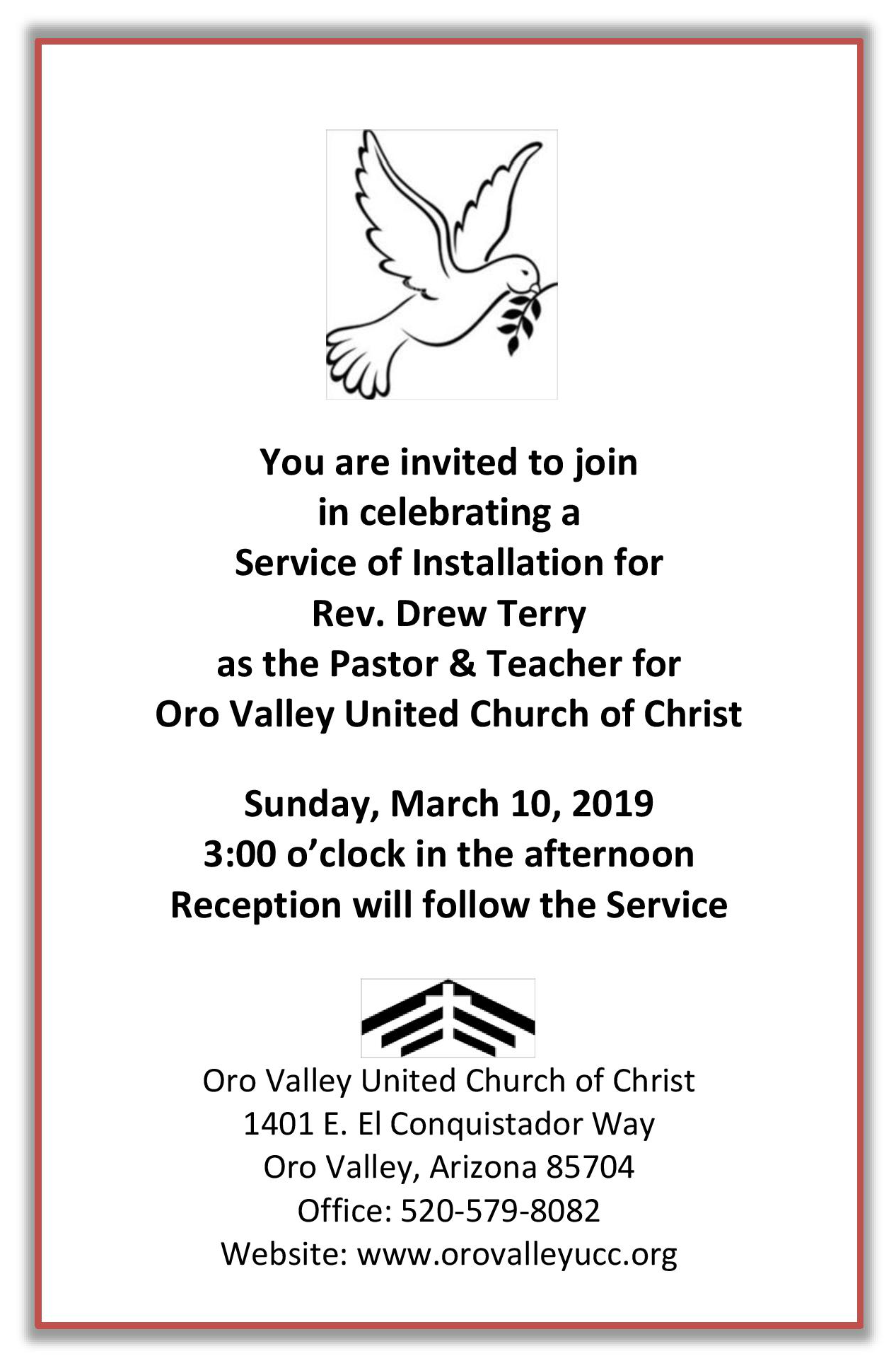 Invitation oro valley ucc installation drew.png