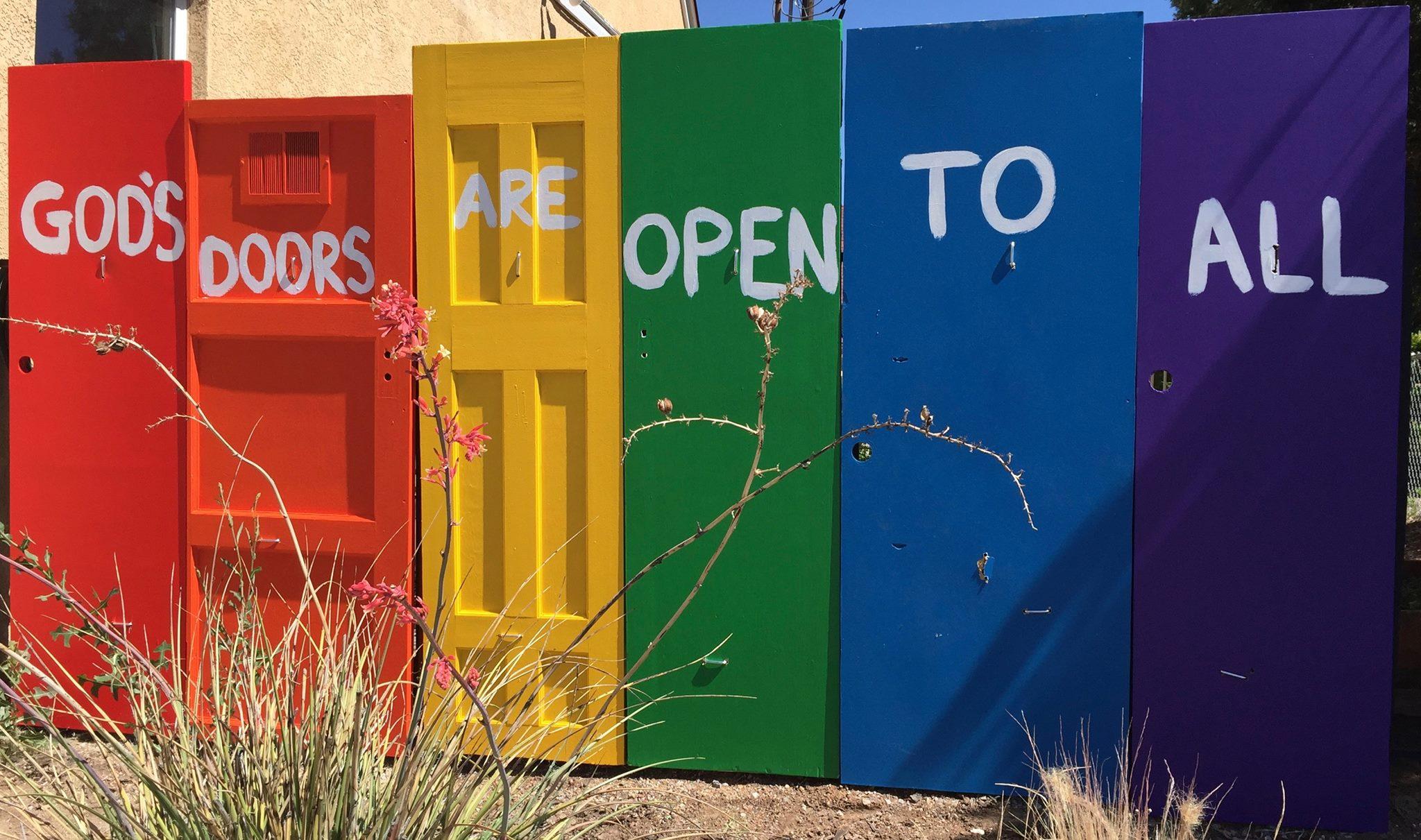 first congregational albuquerque rainbow doors.jpg