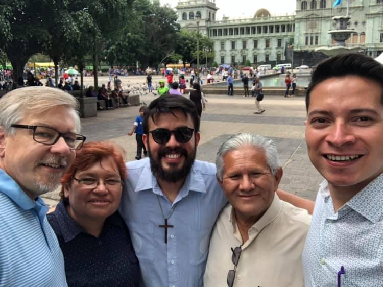 Brayan, José, Hector, and Pamela