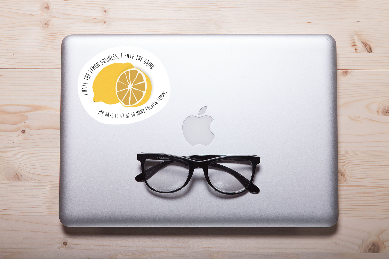 "Arrested Development ""Lemons"" Laptop Sticker"