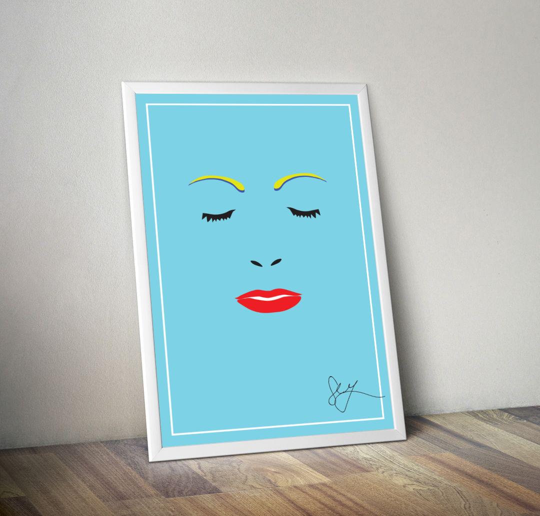 """Face"" Print"