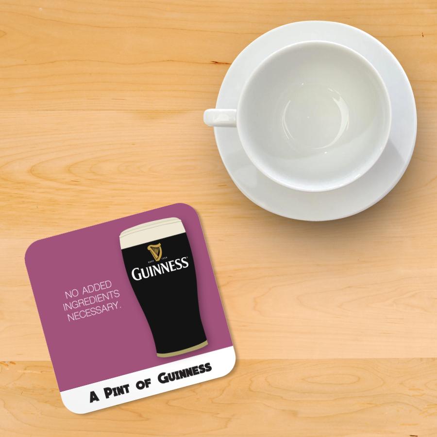 Guinness Recipe Coaster