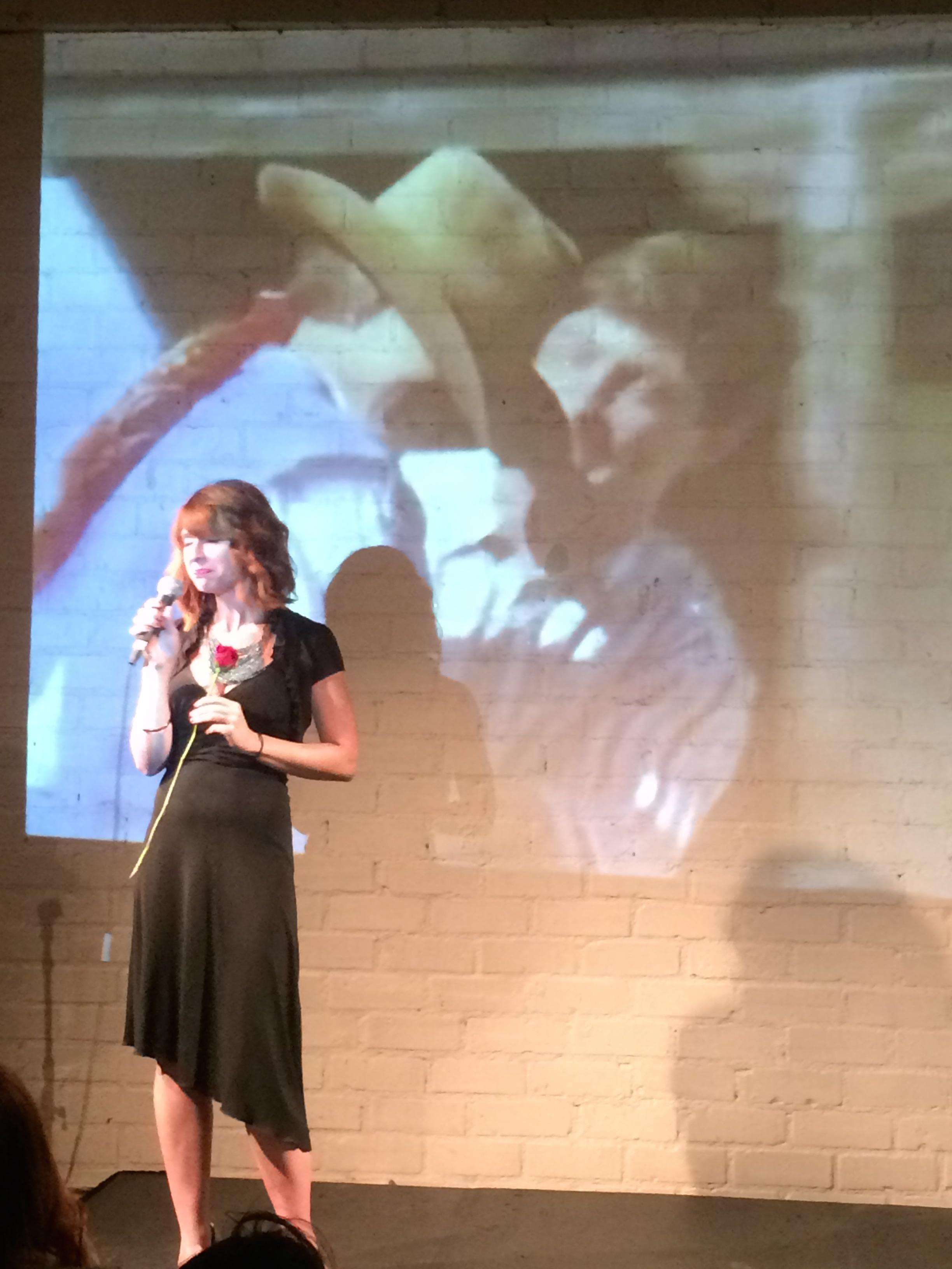 Musical guest Ashley Joyce, 5.6