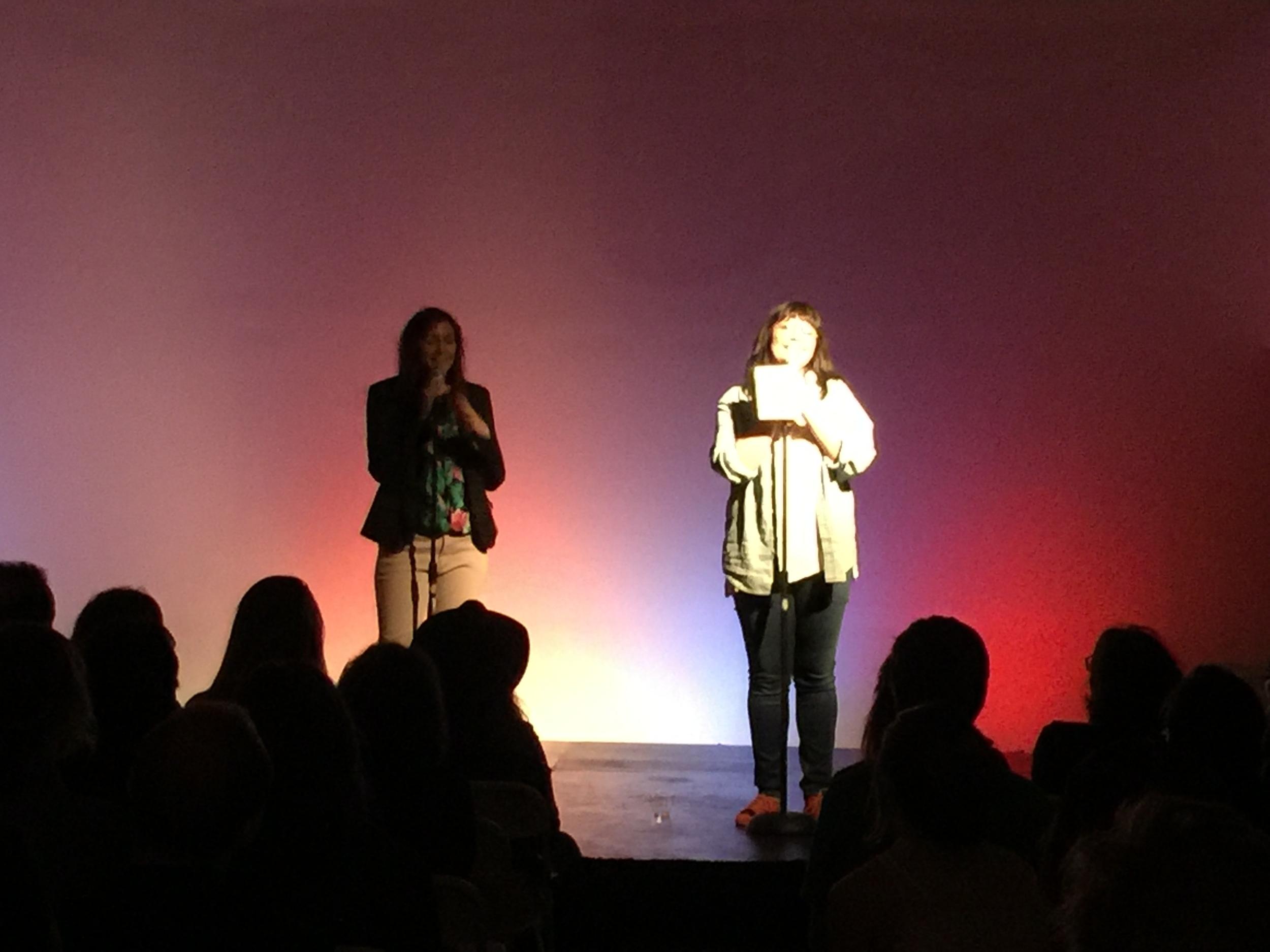 Nikki Pierce and Mary Hollis Inboden, 10.7