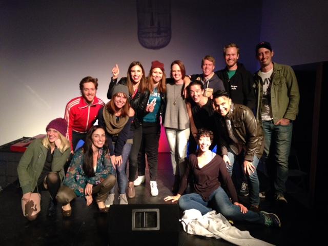 Our hilarious cast, 11.2