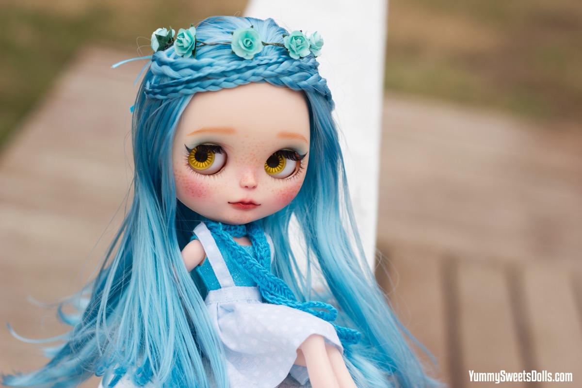 Blue Raspberry Pufflette by Yummy Sweets Dolls