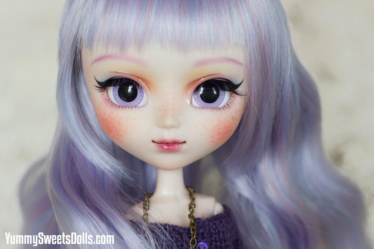 Lilac Petit Fours by Yummy Sweets Dolls