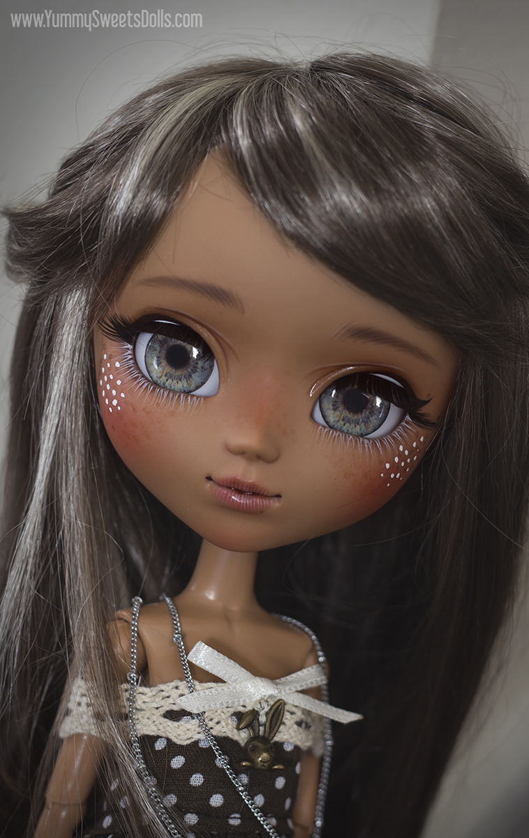french silk pie, custom pullip by yummy sweets dolls connie bees