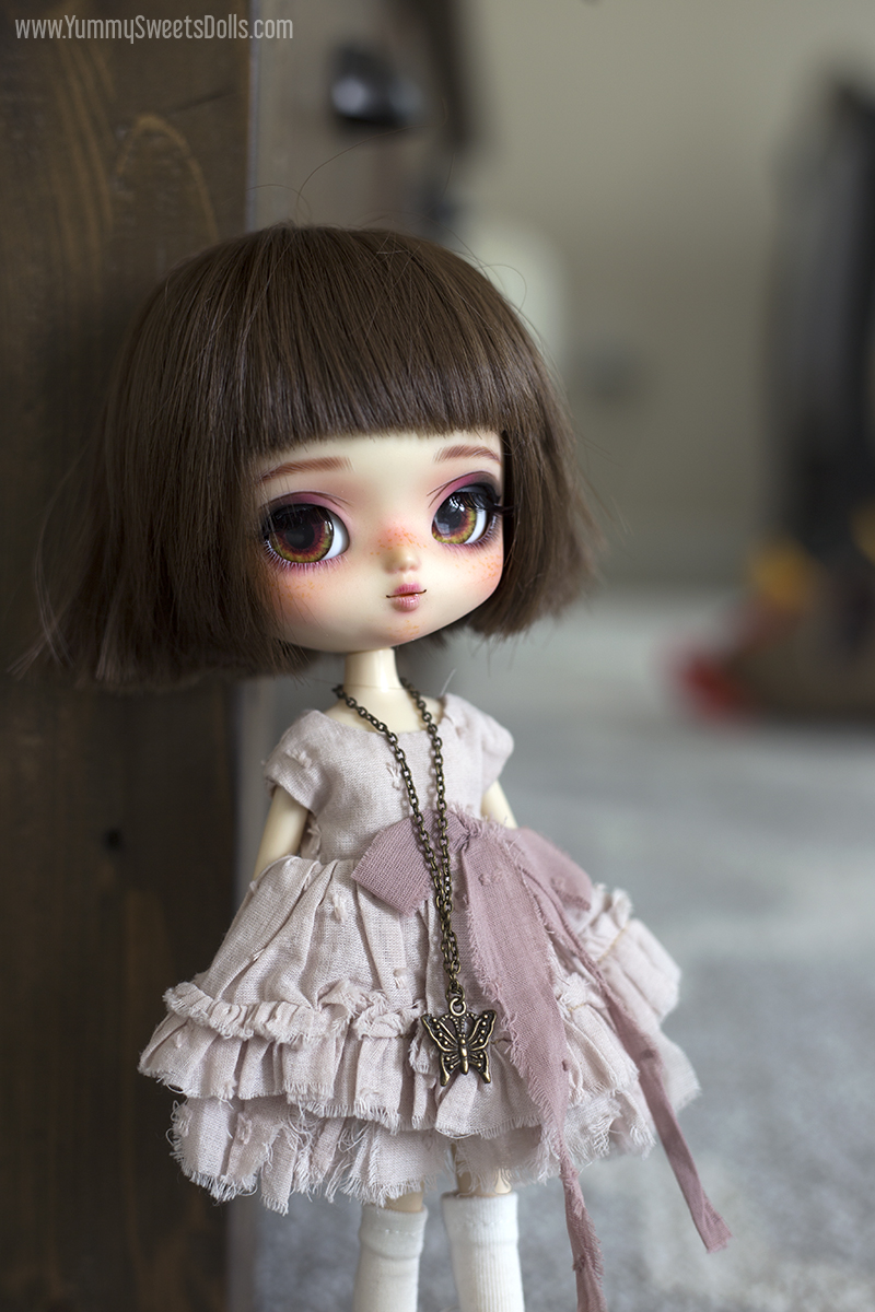 Chocolate Raspberry Cream Napoleon by Yummy Sweets Dolls, Connie Bees, Full Custom Yeolume Pullip