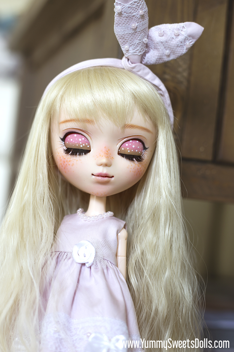 Raspberry Rose Soufflé by Yummy Sweets Dolls, Connie Bees, Full Custom Pullip