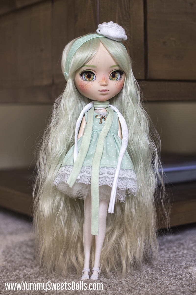 Pistachio Delight by Yummy Sweets Dolls, Connie Bees, Full Custom Pullip