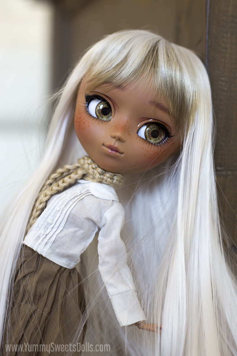 Toasted Marshmallow by Yummy Sweets Dolls, Connie Bees, Full Custom Pullip