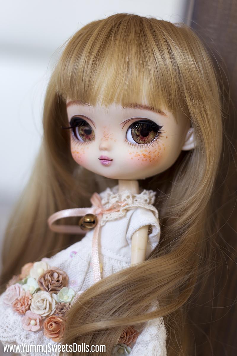 Rosebud Tea by Yummy Sweets Dolls, Connie Bees, Full Custom Pullip