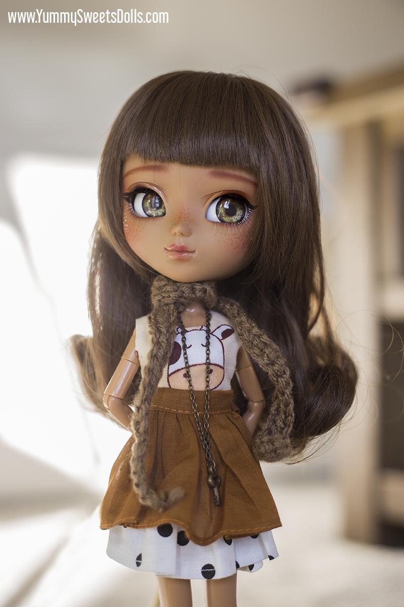 Full custom Pullip Chocolate Milk by Yummy Sweets Dolls, Connie Bees