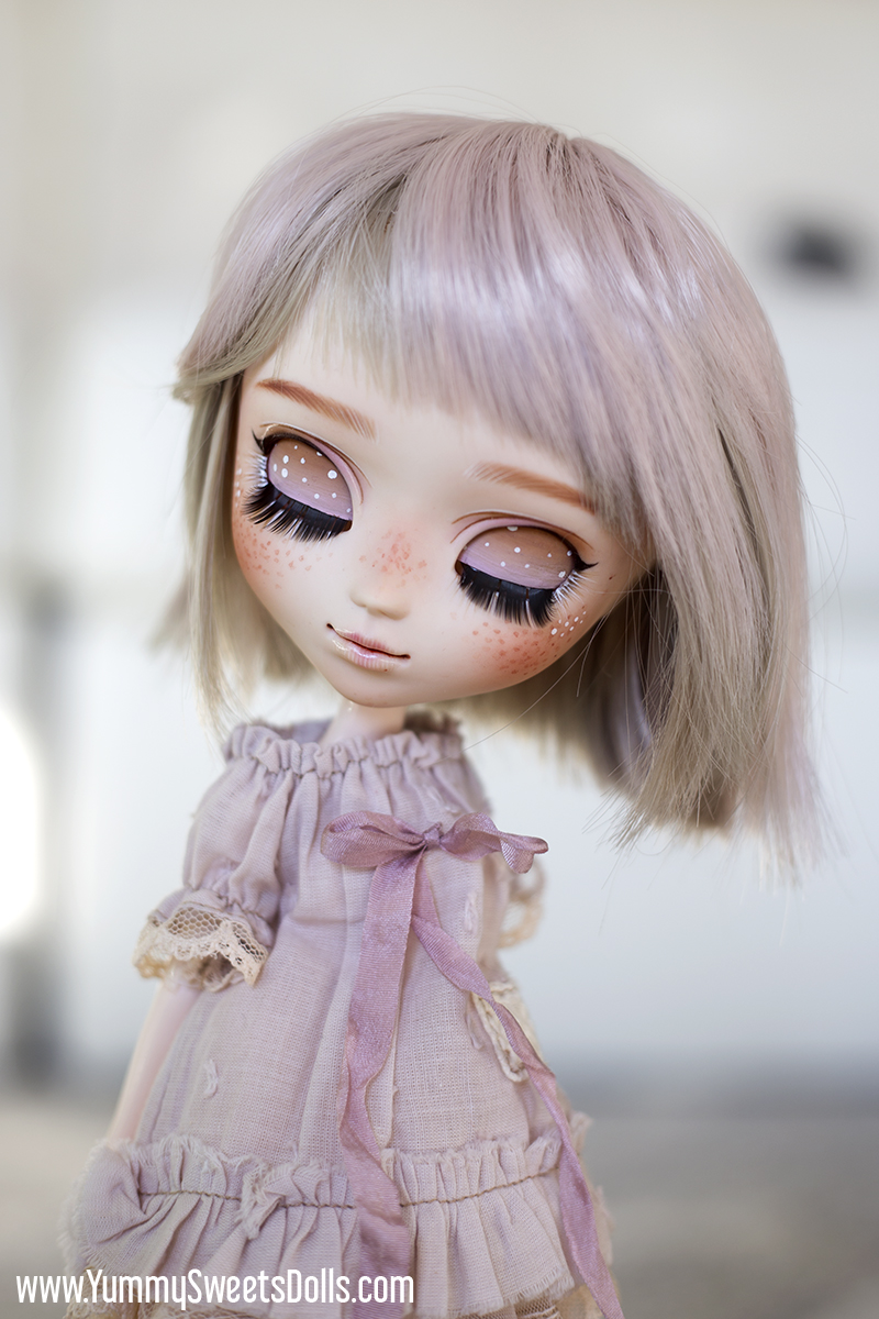 Full custom Pullip Strawberry Buttermilk Donut by Yummy Sweets Dolls, Connie Bees