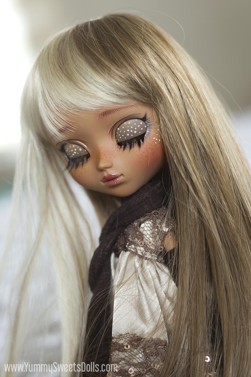 Caramel Nougat Bar custom Pullip by Yummy Sweets Dolls, Connie Bees
