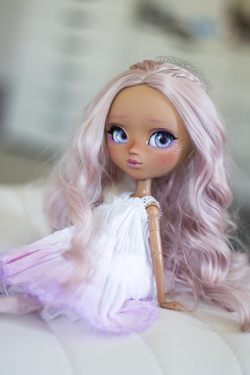 Ube Chiffon Cake full custom Pullip by Yummy Sweets Dolls, Connie Bees