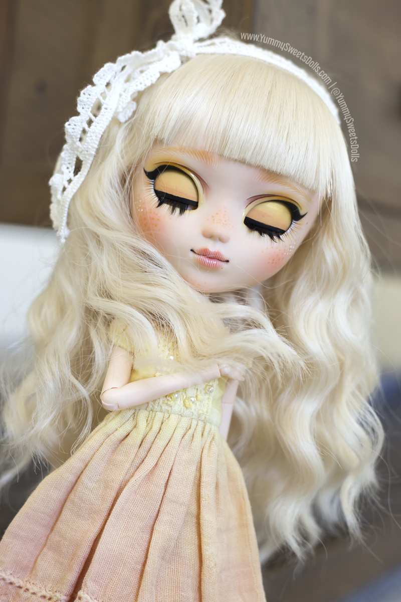 Blonde Orange Brownie full custom Pullip by Yummy Sweets Dolls, Connie Bees