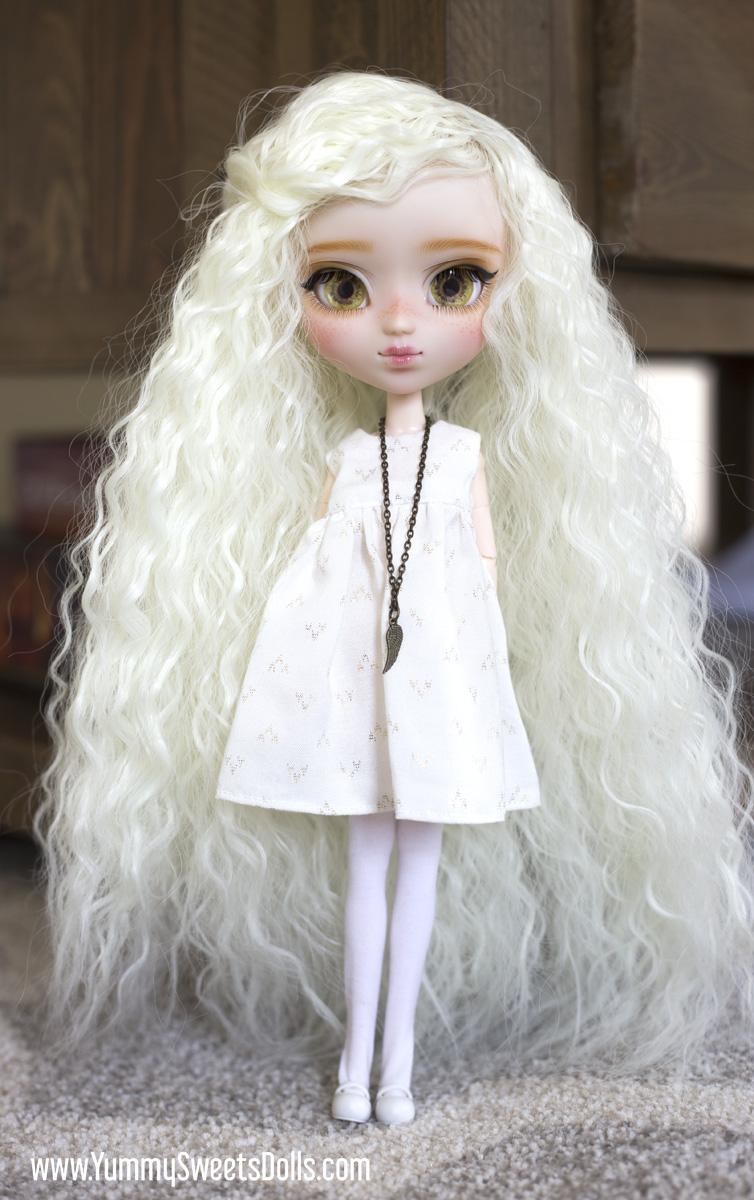 Lemon Cream Puff full custom Pullip doll by Yummy Sweets Dolls, Connie Bees