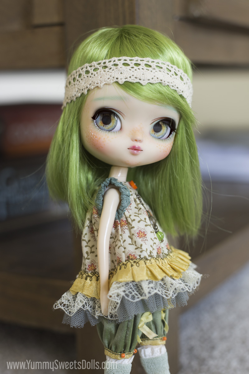 Lemon Lime Tea Cookie Yeolume full custom Pullip doll by Yummy Sweets Dolls, Connie Bees