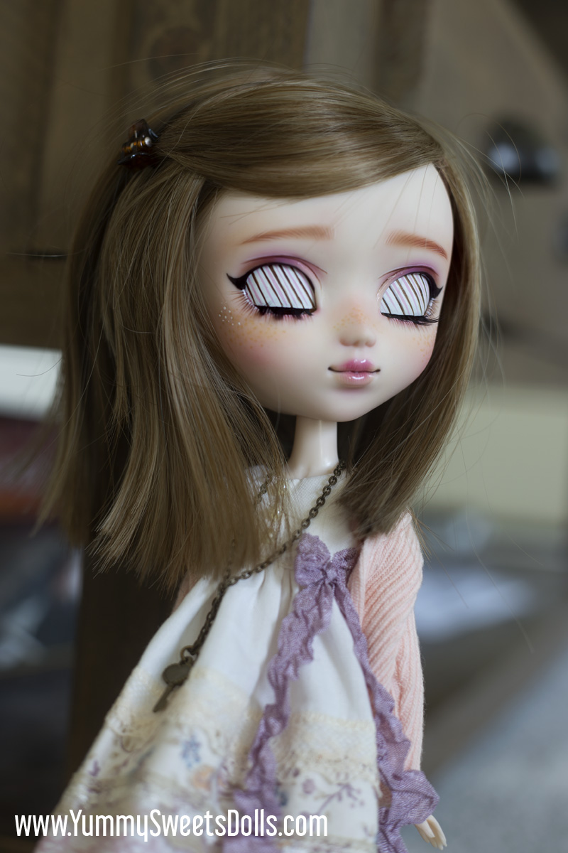 Rose Panna Cotta Tart full custom Pullip doll by Yummy Sweets Dolls, Connie Bees