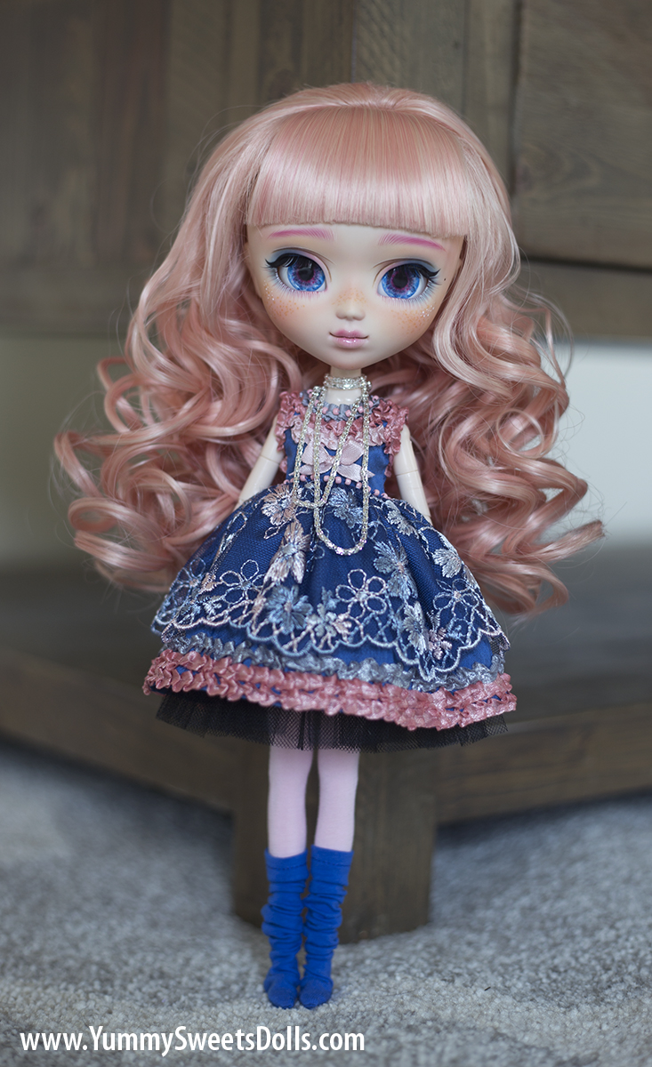 Gourmet Cotton Candy Lollipop full custom Pullip doll by Yummy Sweets Dolls, Connie Bees