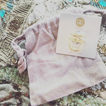 """This Gorjana Isla Ring & Midi Ring Set was a piece I added to my """"wishlist"""" right away and my stylist let me know the entire collection she curated for me was based on this selection!"""