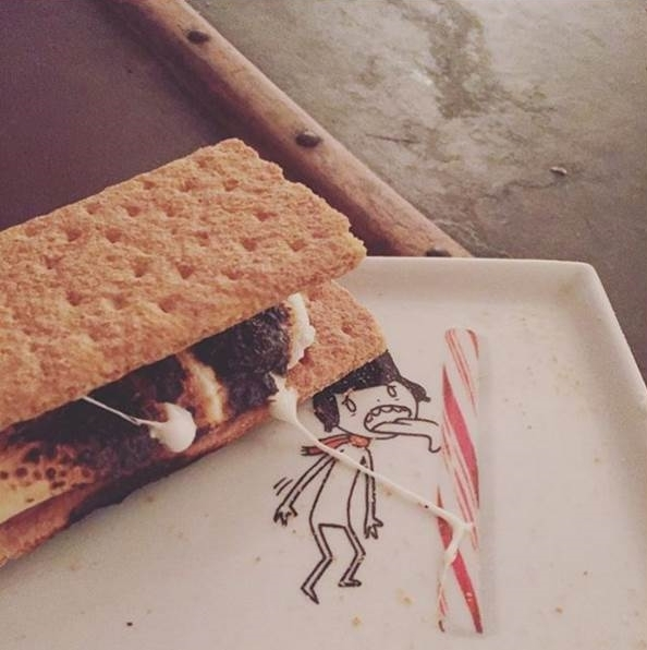 Homemade s'mores because we can!