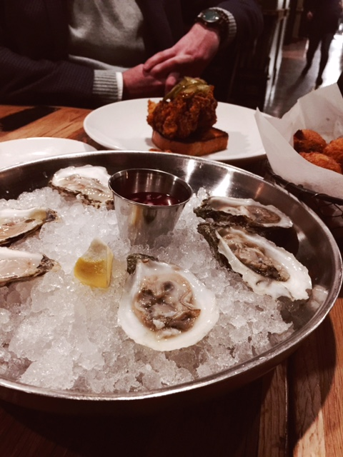 Toutant Oysters