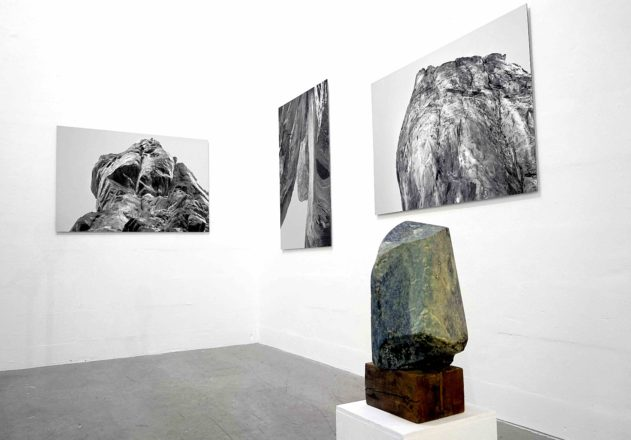 Ulla Marquardt, Coachella Valley, Gebilde I-III, 2016. Ausstellungsbeitrag