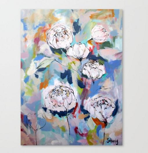 """""""Garden Party II"""" Canvas Print"""
