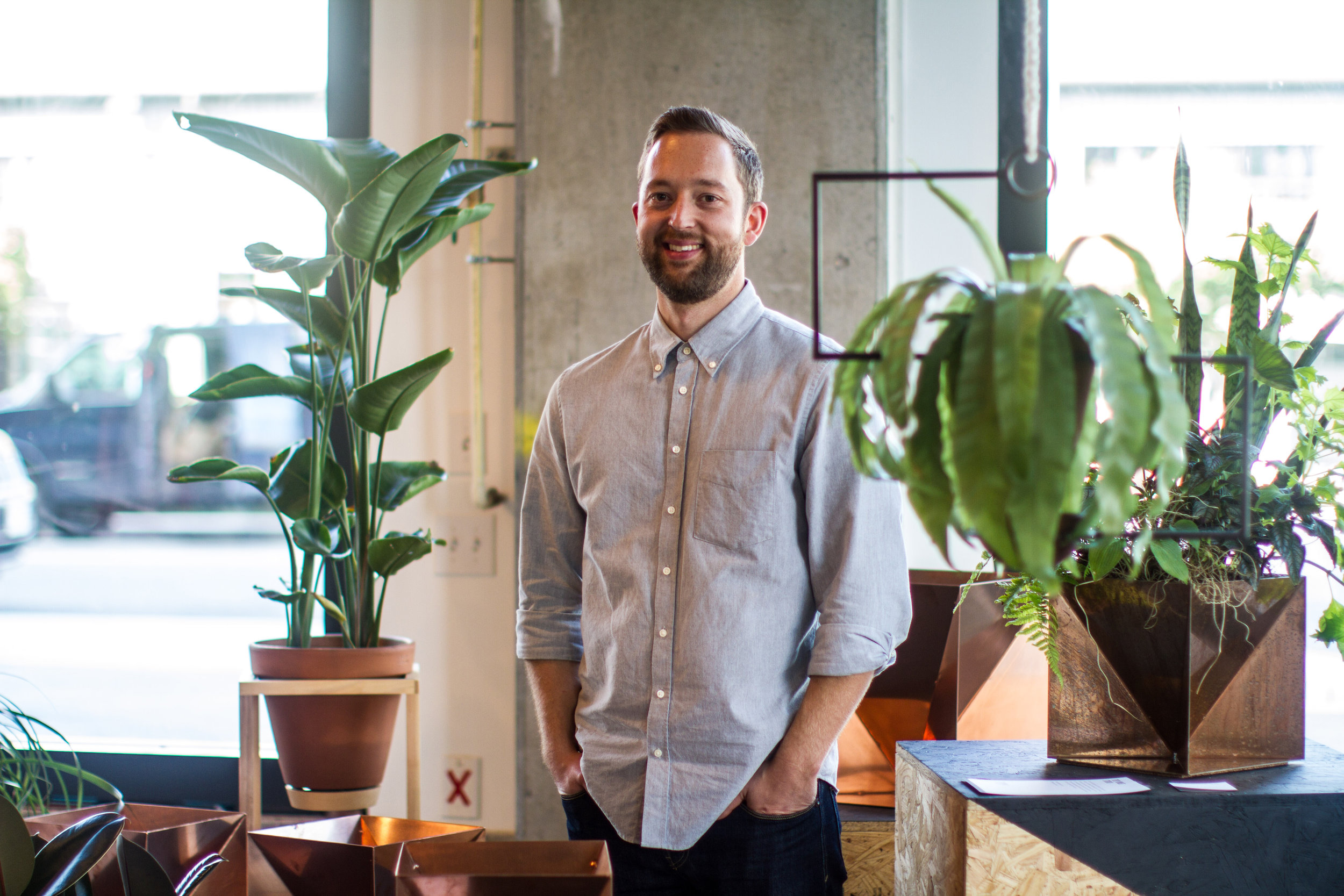 Trey Jones  Furniture Designer I design and make furniture and objects for the home.    What's inspiring you lately?   Road trips and plants.   www.TreyJonesStudio.com  IG  @treyjones_studio