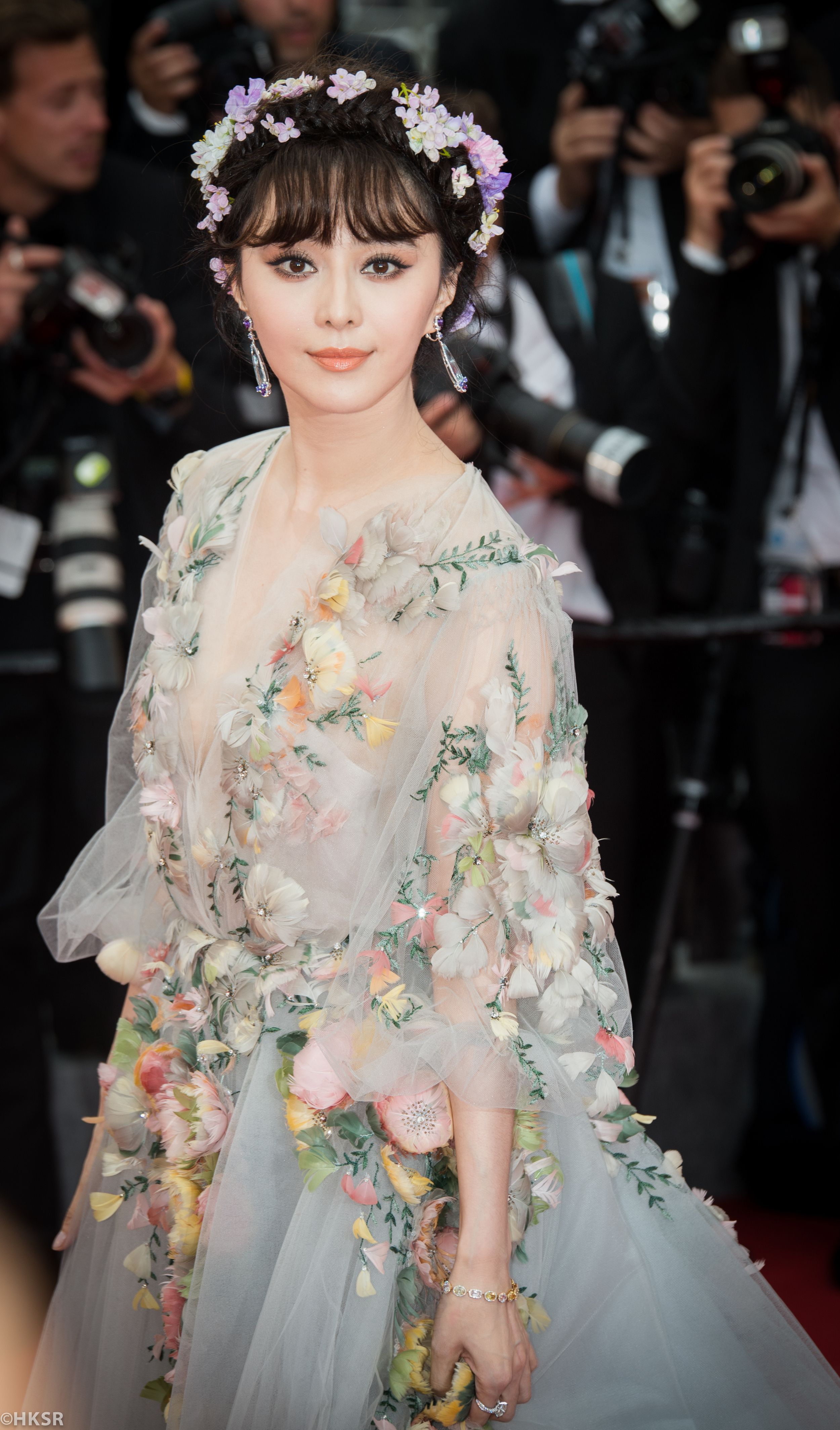 Fan Bingbing's stunning Ralph & Russo floral gown at Cannes 2015