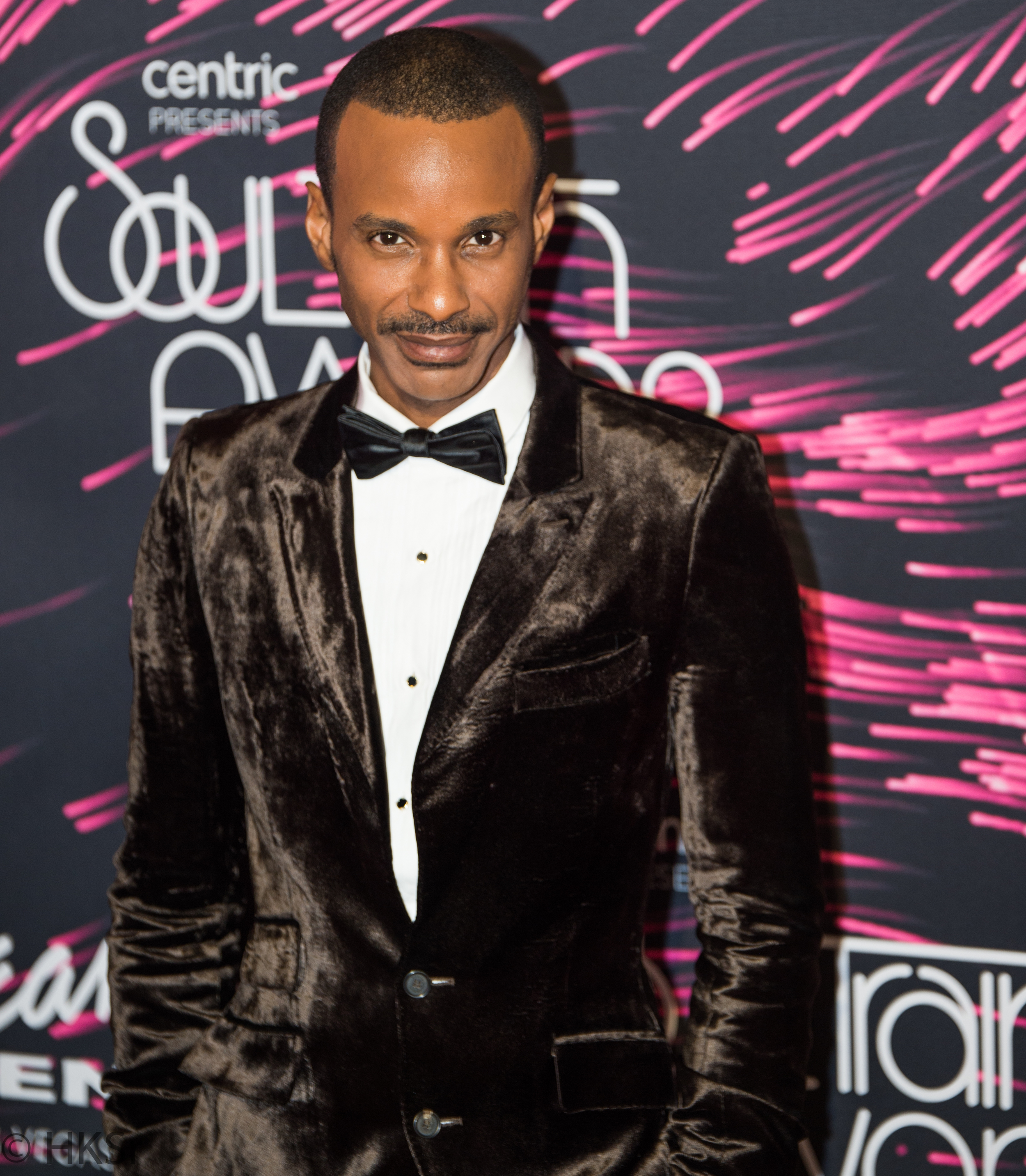 Another performer on the red carpet Tevin Campbell at the Soul Train Awards