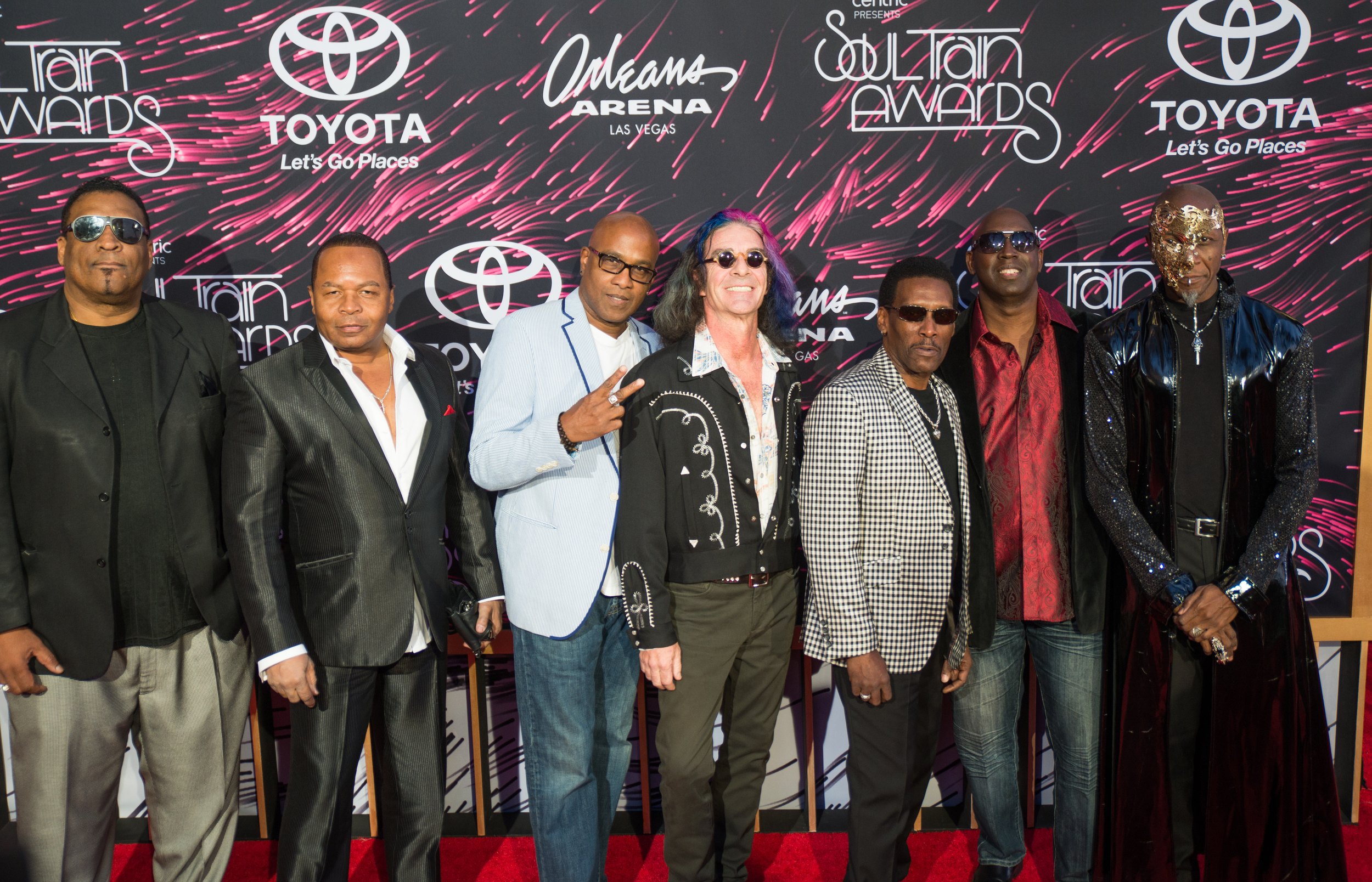 Cameo was on the red carpet at the SoulTrain Awards