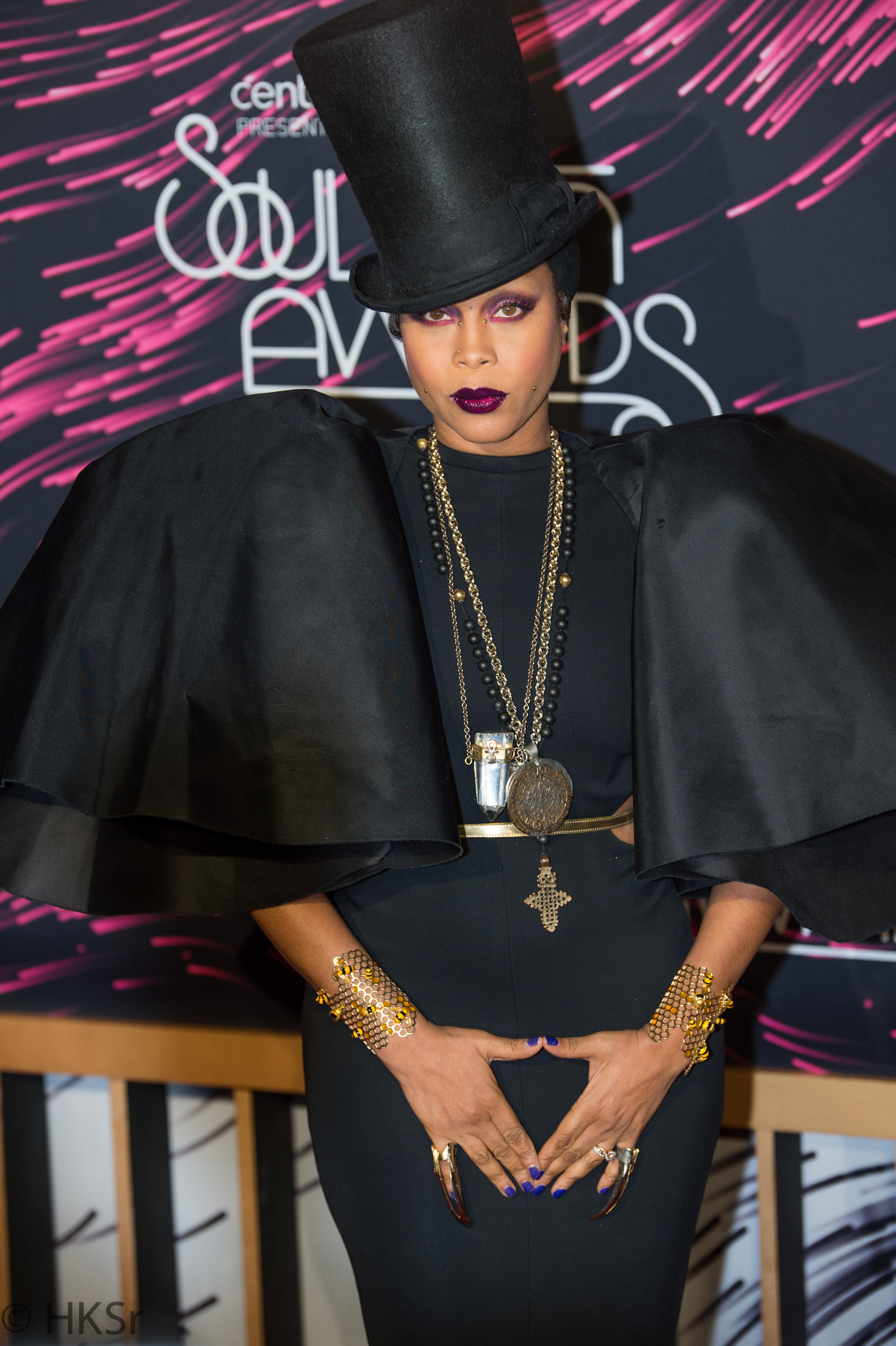 Erykah Badu is the host for the Soul Train Awards