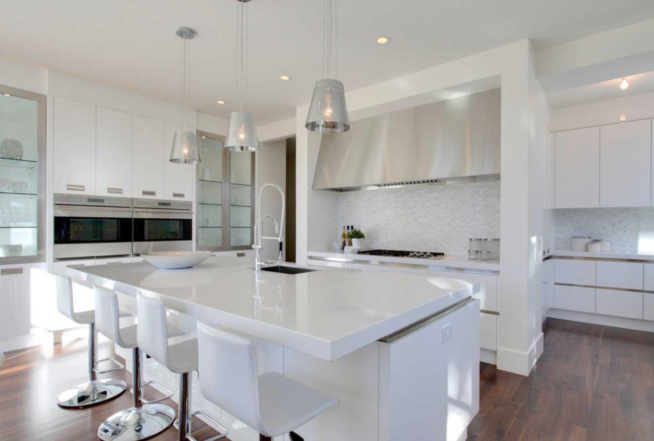 white-quartz-countertop-modern-kitchen
