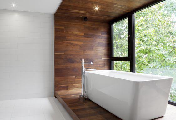 2. BOIS - Oh oui, du bois dans la salle de bain