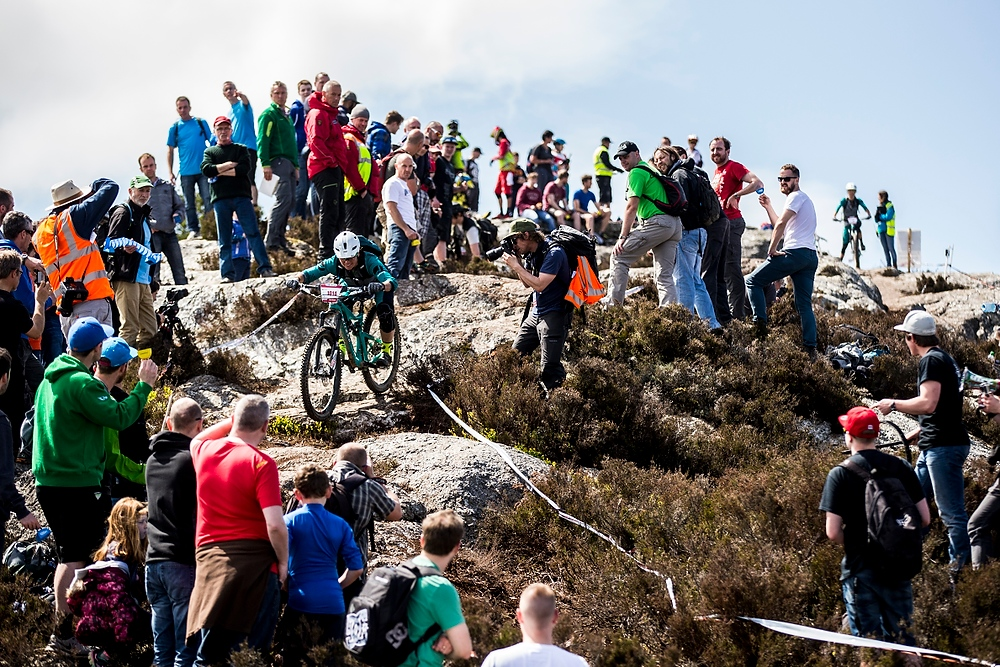 The best spectators I've ever had the pleasure of racing in from of - THANK YOU IRELAND!!!!