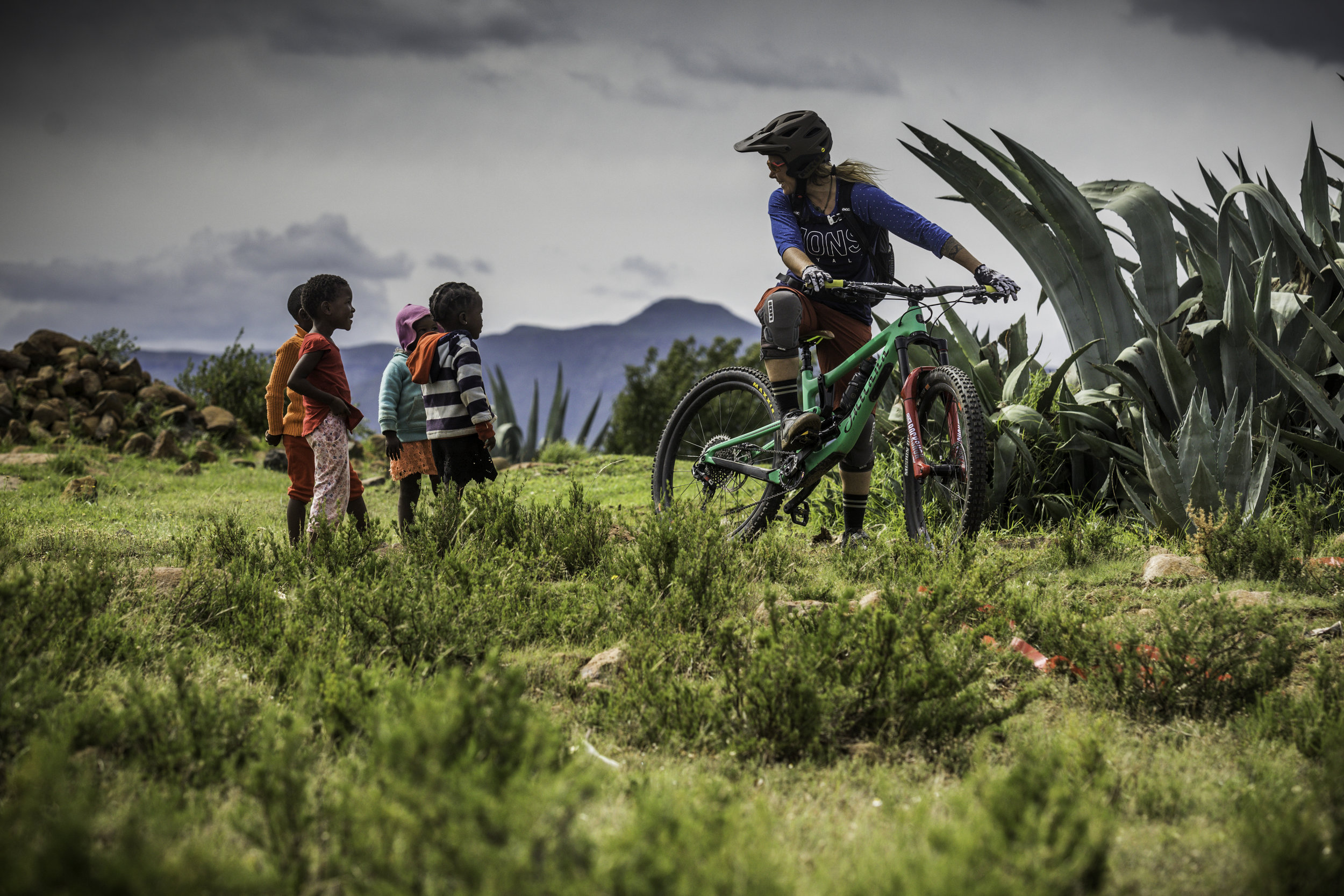 So much excitement, so many smiles. Pretty surreal how a simple tool like a bicycle can provide so much joy in a child's life.